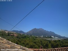 view from Callosa d'en Sarrià - Serra de Bèrnia on 2017-06-12
