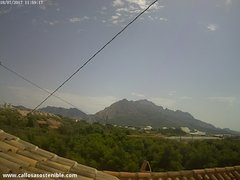 view from Callosa d'en Sarrià - Serra de Bèrnia on 2017-07-18