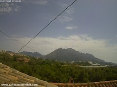 view from Callosa d'en Sarrià - Serra de Bèrnia on 2017-07-19