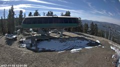 view from Angel Fire Resort - Chile Express on 2017-11-16