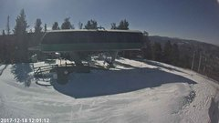 view from Angel Fire Resort - Chile Express on 2017-12-18
