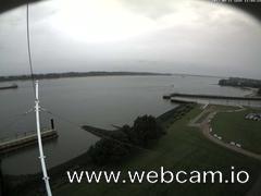 view from Willkommhöft Westen  on 2017-08-11
