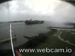 view from Willkommhöft Westen  on 2017-09-08