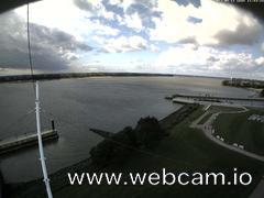 view from Willkommhöft Westen  on 2017-09-11
