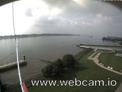 view from Willkommhöft Westen  on 2017-09-19