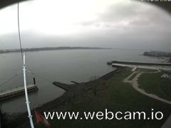 view from Willkommhöft Westen  on 2017-11-08