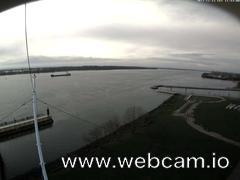 view from Willkommhöft Westen  on 2017-11-12