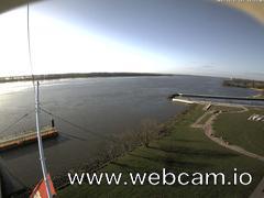 view from Willkommhöft Westen  on 2017-11-17