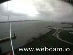 view from Willkommhöft Westen  on 2017-11-18