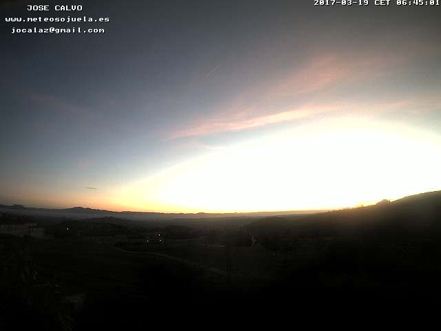 time-lapse frame, SOJUELA webcam
