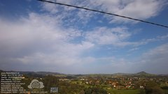 view from MeteoReocín on 2017-10-15