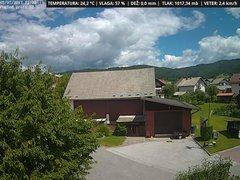 view from VREME ŽIRI-cam-1-SV on 2017-07-03