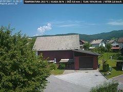 view from VREME ŽIRI-cam-1-SV on 2017-07-07