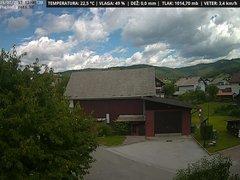 view from VREME ŽIRI-cam-1-SV on 2017-07-15