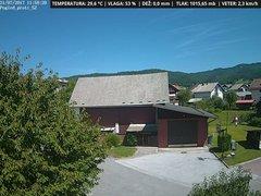 view from VREME ŽIRI-cam-1-SV on 2017-07-31