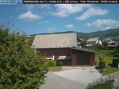 view from VREME ŽIRI-cam-1-SV on 2017-08-08