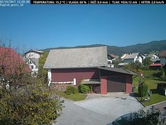 view from VREME ŽIRI-cam-1-SV on 2017-10-02