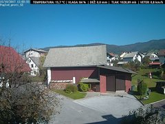view from VREME ŽIRI-cam-1-SV on 2017-10-15