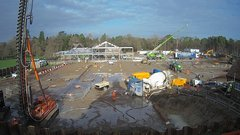 view from RHS Wisley 2 on 2018-01-22