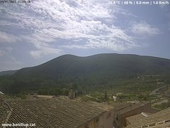 view from Benillup - Serra d'Almudaina on 2017-07-19
