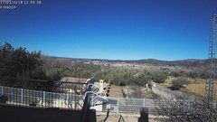 view from Agres - Bonell, el Comtat on 2018-01-17