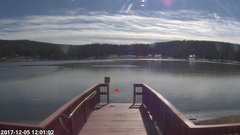 view from Angel Fire Resort - Monte Verde Lake on 2017-12-05