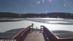 view from Angel Fire Resort - Monte Verde Lake on 2017-12-10