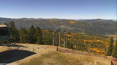 view from Angel Fire West View on 2017-10-07