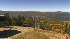 view from Angel Fire West View on 2017-10-08