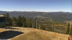 view from Angel Fire West View on 2017-10-15