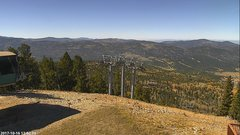 view from Angel Fire West View on 2017-10-16