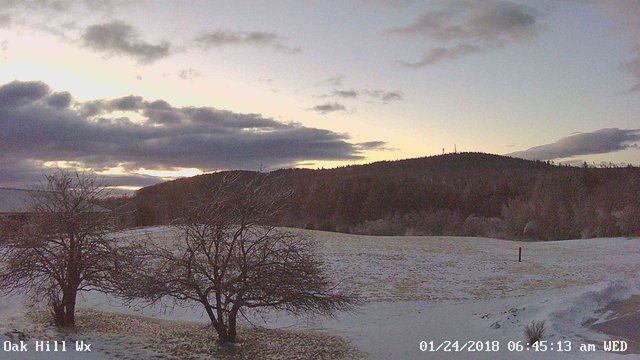 time-lapse frame, Winter_sunrise webcam