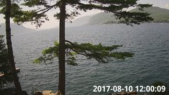 view from Bluffhead Hullets Landing, NY on 2017-08-10