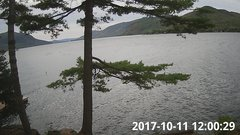 view from Bluffhead Hullets Landing, NY on 2017-10-11