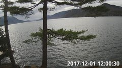 view from Bluffhead Hullets Landing, NY on 2017-12-01