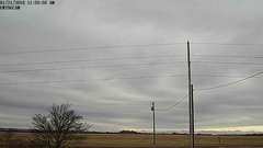 view from Ewing, Nebraska (west view)   on 2018-01-21