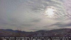 view from Horseshoe Bend, Idaho CAM2 on 2018-01-17