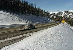 view from 4 - Highway 50 Road Conditions on 2018-01-16