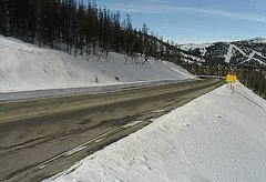 view from 4 - Highway 50 Road Conditions on 2018-01-18
