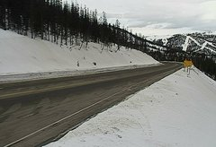 view from 4 - Highway 50 Road Conditions on 2018-01-20