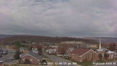 view from Highland Park Hose Co. #1 on 2017-11-30