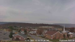 view from Highland Park Hose Co. #1 on 2017-12-02