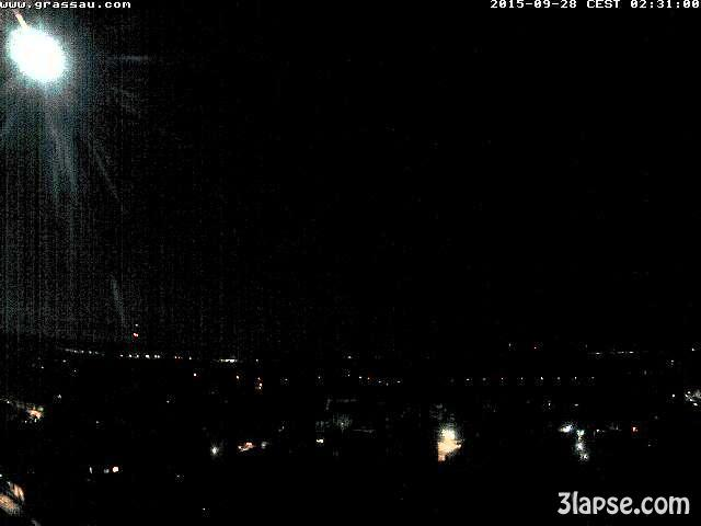 time-lapse frame, Lunar Eclipse webcam