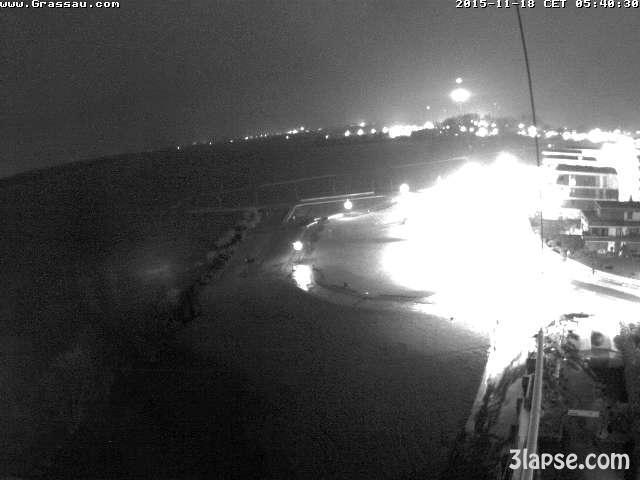 time-lapse frame, Hochwasser webcam