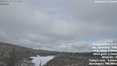 view from 1 Sotra island, W-Norway on 2018-03-12