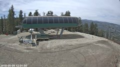 view from Angel Fire Resort - Chile Express on 2018-05-09