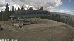 view from Angel Fire Resort - Chile Express on 2018-05-15