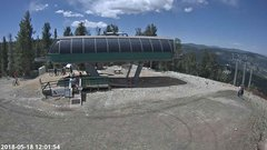 view from Angel Fire Resort - Chile Express on 2018-05-18