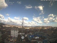 view from LOGROÑO on 2018-02-06