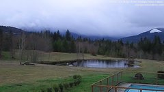view from Olympic View Cabins Hurricane Ridge Cam on 2018-03-04